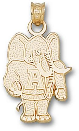 """Alabama Crimson Tide """"Elephant"""" 3/4"""" Lapel Pin - 14KT Gold Jewelry"""