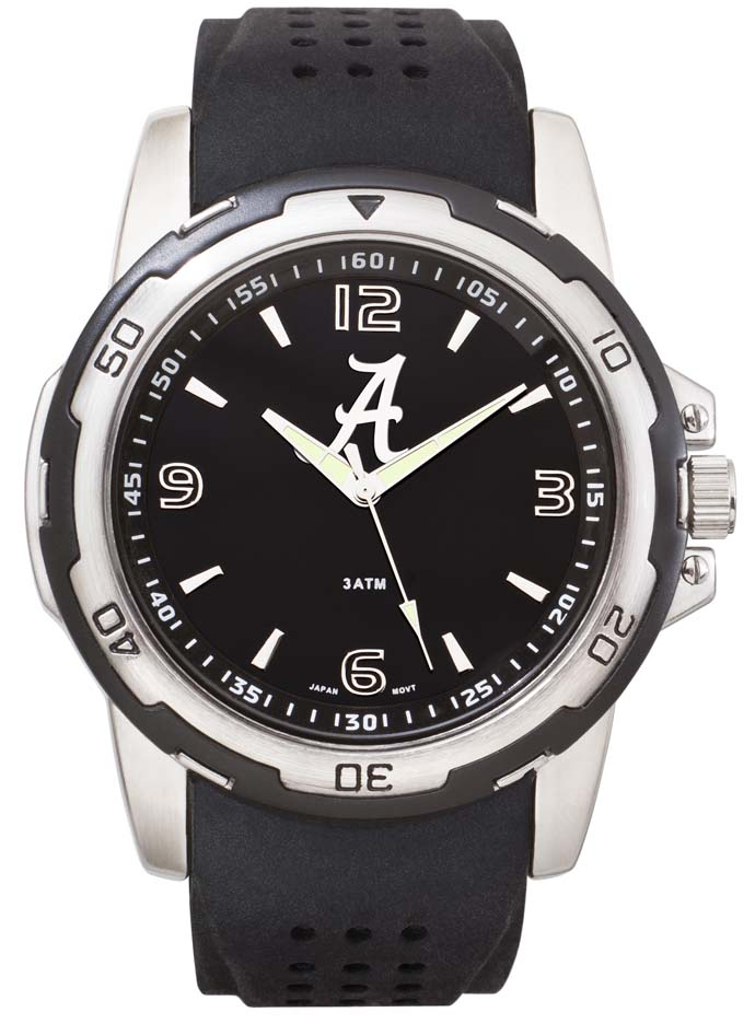 Alabama Crimson Tide NCAA Stealth Men's Sport Watch LGA-UAL141