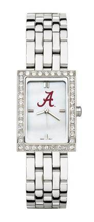 Alabama Crimson Tide Women's Allure Watch with Stainless Steel Bracelet