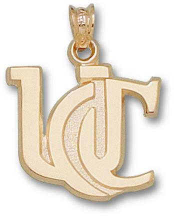 "Cincinnati Bearcats ""UC"" 5/8"" Lapel Pin - 10KT Gold Jewelry"