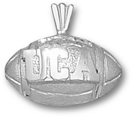 Central Arkansas Bears Uca Football Pendant Sterling Silver Jewelry