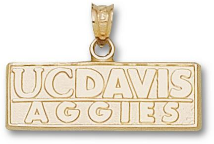 """California (Davis) Aggies New """"UC Davis Aggies"""" Lapel Pin - Sterling Silver Jewelry"""