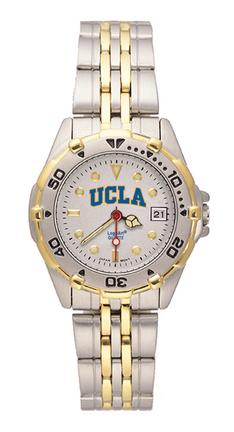 UCLA Bruins NCAA Womens All Star Watch with Stainless Steel Bracelet