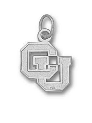 Colorado Buffaloes CU 12 Charm  Sterling Silver Jewelry