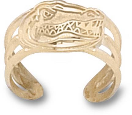 "Florida Gators ""Gator Head"" Toe Ring - 10KT Gold Jewelry"