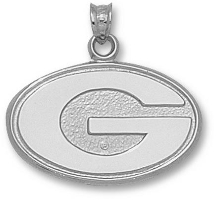 Click here for Georgia Bulldogs 5/8 G Pendant - 10KT White Gold J... prices