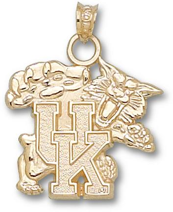 "Kentucky Wildcats ""Wildcat"" Lapel Pin - 10KT Gold Jewelry"