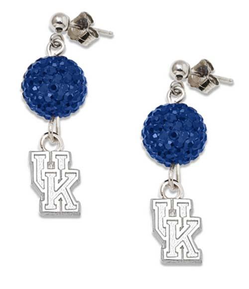 Kentucky Wildcats Ovation Crystal Earrings