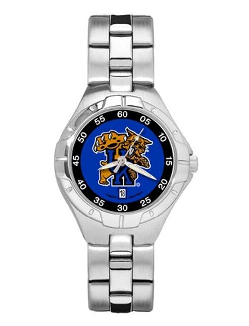 Kentucky Wildcats Wildcat Woman's Pro II Watch with Stainless Steel Bracelet