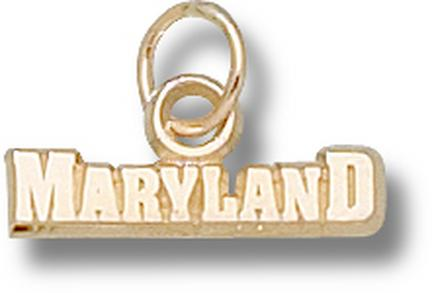 Maryland Terrapins Maryland Charm – 14KT Gold Jewelry