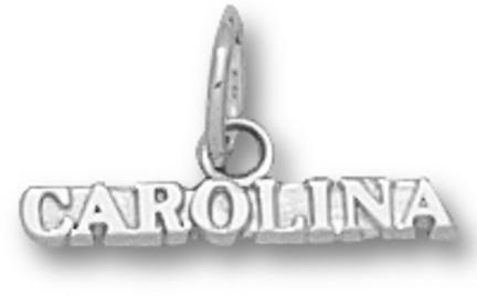 North Carolina Tar Heels Carolina Charm - Sterling Silver Jewelry