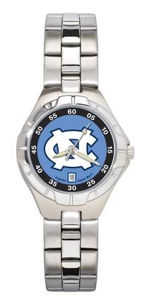 North Carolina Tar Heels Women's Pro II Watch with Stainless Steel Bracelet