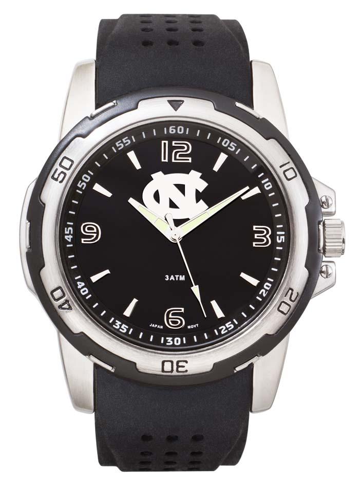 North Carolina Tar Heels NCAA Stealth Men's Sport Watch LGA-UNC141