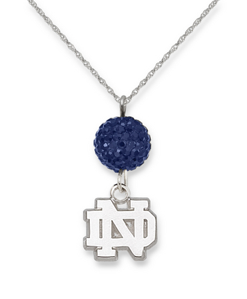Notre Dame Fighting Irish Ovation Crystal Necklace
