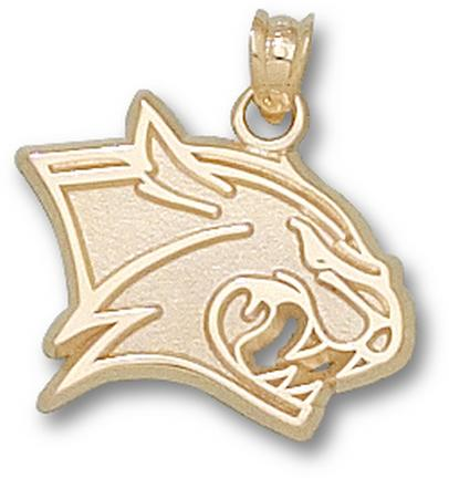 "New Hampshire Wildcats New ""Wildcat Head"" 5/8"" Lapel Pin - 14KT Gold Jewelry"