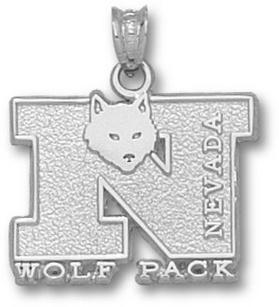 Nevada Wolf Pack N Wolf Pack with Wolf Pendant - Sterling Silver Jewelry