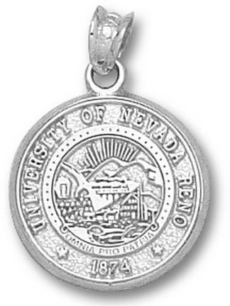 Nevada Wolf Pack Seal Pendant - Sterling Silver Jewelry