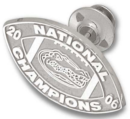 Florida Gators 2006 Bowl Championship Series 34 Logo Lapel Pin  14KT Gold Jewelry