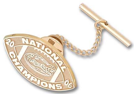 Florida Gators 2006 Bowl Championship Series 34 Logo Tie Tac  14KT Gold Jewelry