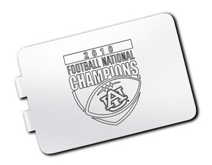 Auburn Tigers 2010 Bowl Championship Series Brass Money Clip LGA-UNV2010A-MC