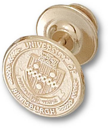 "Pittsburgh Panthers ""Seal"" 1/2"" Lapel Pin - 10KT Gold Jewelry"