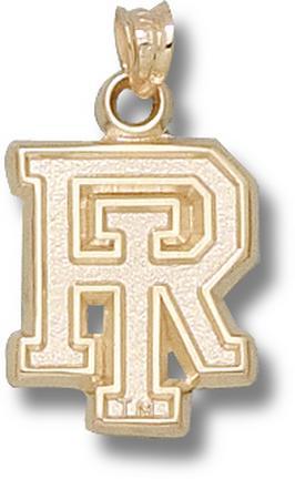 Rhode Island Anchormen RI Pendant - 14KT Gold Jewelry