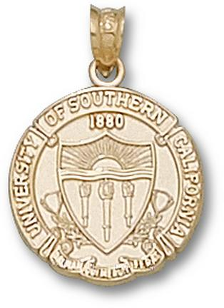 "USC Trojans ""Seal"" Lapel Pin - 14KT Gold Jewelry"