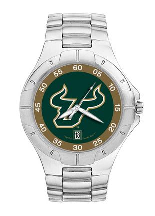 South Florida Bulls NCAA Men's Pro II Watch with Stainless Steel Bracelet