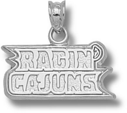 Louisiana (Lafayette) Ragin' Cajuns Ragin' Cajuns Pendant - Sterling Silver ..