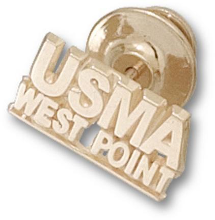 "Army Black Knights ""USMA Westpoint"" Lapel Pin - 10KT Gold Jewelry"