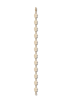 South Carolina Gamecocks C Gamecock  7 12 Bracelet 14KT Gold Jewelry