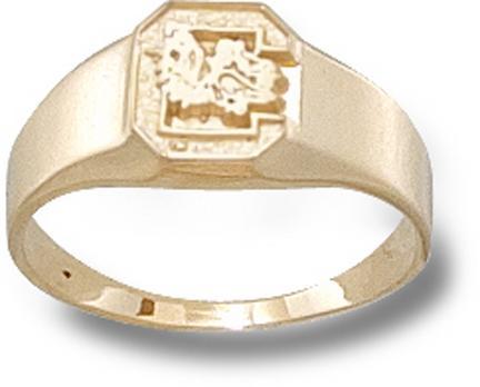 South Carolina Gamecocks C Ladies Ring Size 6  14KT Gold Jewelry