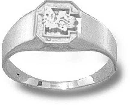 South Carolina Gamecocks C Ladies Ring Size 6  Sterling Silver Jewelry