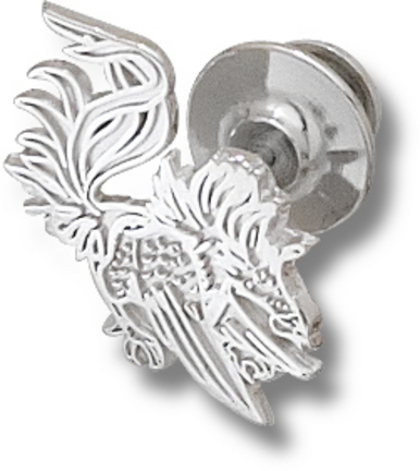 South Carolina Gamecocks Gamecock 58 Lapel Pin  Sterling Silver Jewelry