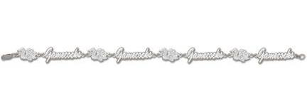 South Carolina Gamecocks Bird and Gamecocks 7 12 Bracelet  Sterling Silver Jewelry