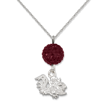 South Carolina Gamecocks Ovation Crystal Necklace