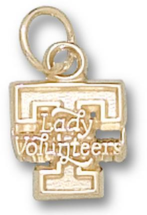 "Tennessee Lady Volunteers ""T Lady Volunteers"" Lapel Pin - 10KT Gold Jewelry"