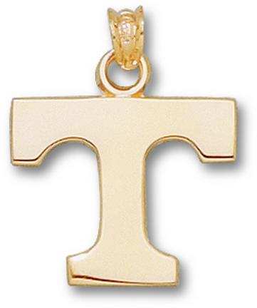 "Tennessee Volunteers Power ""T"" Lapel Pin - 14KT Gold Jewelry"