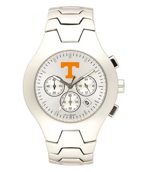 Tennessee Volunteers NCAA Men's Hall of Fame Watch with Stainless Steel Bracelet