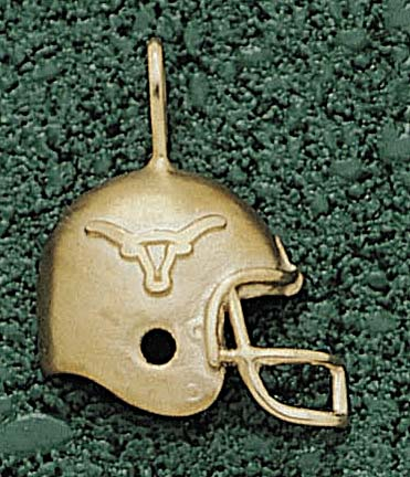 "Texas Longhorns ""Football Helmet"" Lapel Pin - Sterling Silver Jewelry"