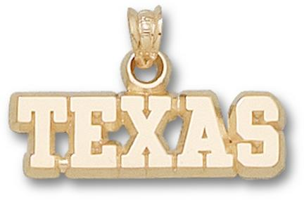 "Texas Longhorns ""Texas"" Lapel Pin - 14KT Gold Jewelry"