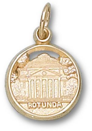"Virginia Cavaliers ""Rotunda"" 12 mm Lapel Pin - Sterling Silver Jewelry"