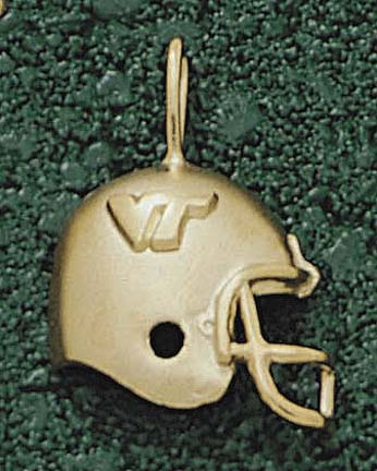 "Virginia Tech Hokies ""Helmet with VT"" Lapel Pin - 10KT Gold Jewelry"