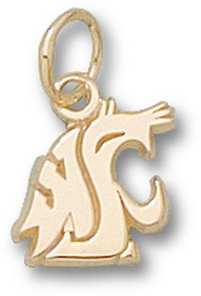 "Washington State Cougars ""WSU Cougar Head"" Lapel Pin - Sterling Silver Jewelry"
