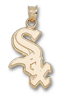 Click here for Chicago White Sox Polished Sox 3/4 Pendant - 14KT... prices