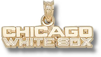 """Chicago White Sox 1/4"""" Lapel Pin - Sterling Silver Jewelry"""