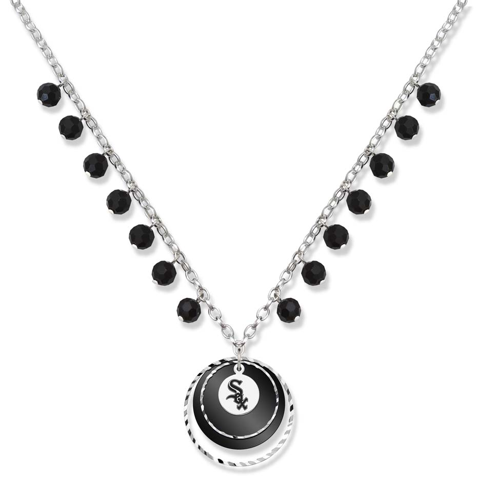 Chicago White Sox Game Day Necklace LGA-WHI068N-CR