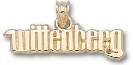 "Wittenberg Tigers ""Wittenberg"" Lapel Pin - 10KT Gold Jewelry"