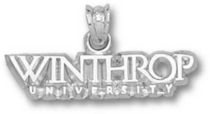 Winthrop Eagles Winthrop University Pendant Sterling Silver Jewelry