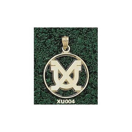 "Xavier Musketeers ""XU"" In Circle Lapel Pin - 10KT Gold Jewelry"